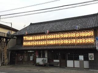 桶川祇園祭 提灯棚